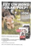 Mijn hond eet poep/gras